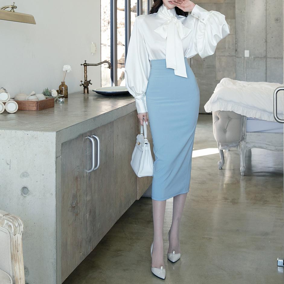 SK2043 高腰裙