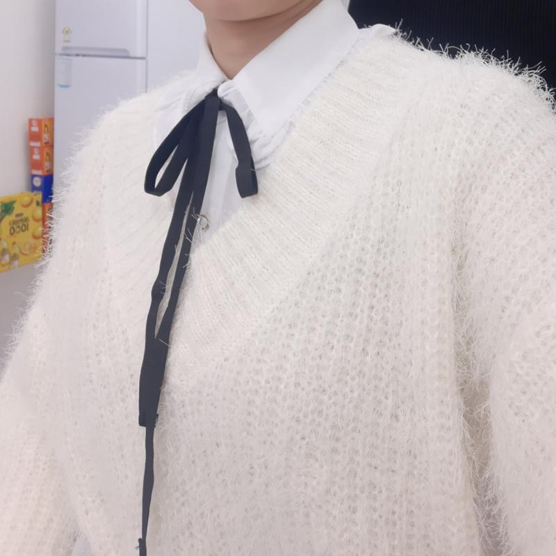 [韓國評價]只穿针织衫太大了
