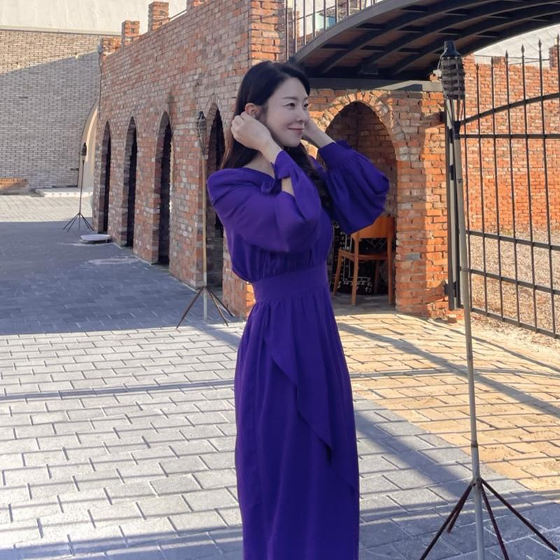 [韓國評價]紫色的衣服本身就很珍贵