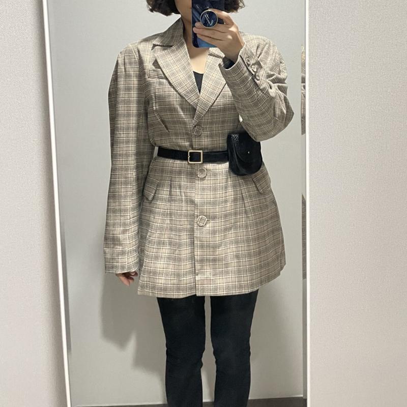 [韓國評價]材质柔软,与裙子或裤子也非常