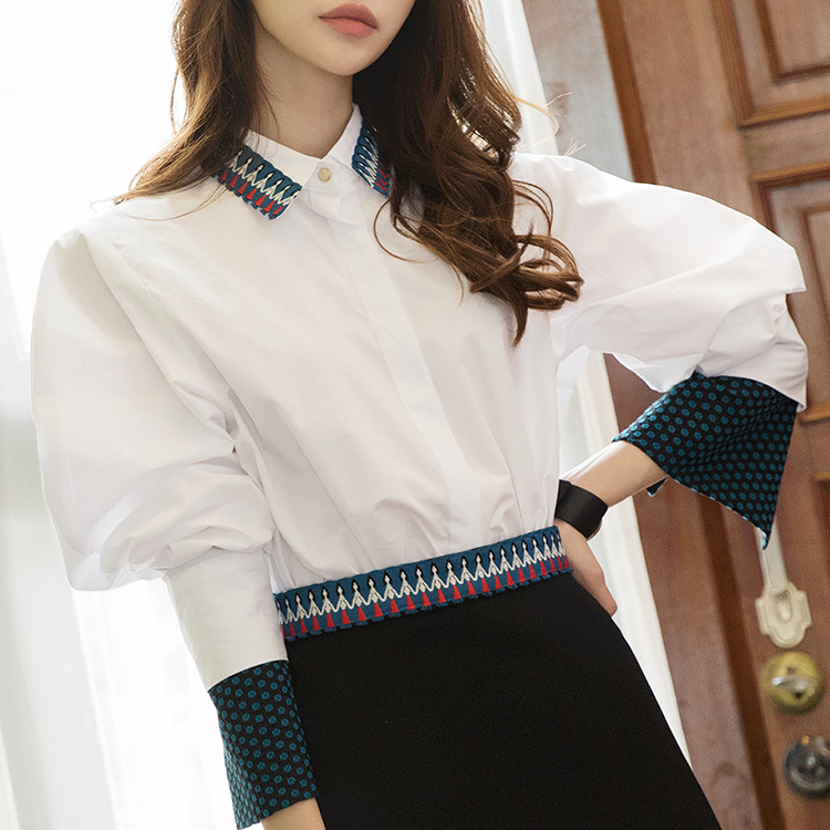 S9002 刺绣衬衫(3rd REORDER)